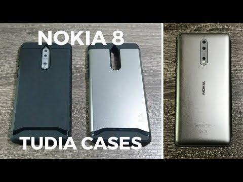 new styles cbc2a ca8b8 Nokia 8 Cases by TUDIA - YouTube