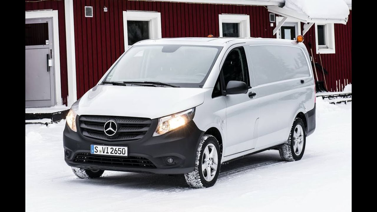 2015 mercedes benz vito 4x4 van youtube. Black Bedroom Furniture Sets. Home Design Ideas