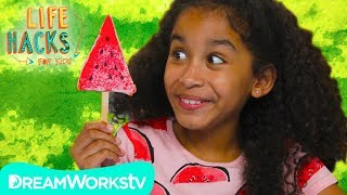 Watermelon Hacks | LIFE HACKS FOR KIDS