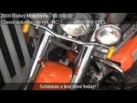 2000 Ridley Motorcycle  for sale in Nationwide, NC 27603 at #VNclassics