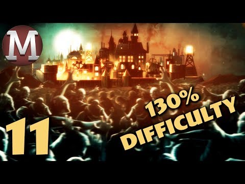 They Are Billions - Part 11 - Brutal Population 130% Difficulty Gameplay