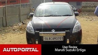 Maruti Suzuki Ertiga User Review - 'great performance' - Auto Portal