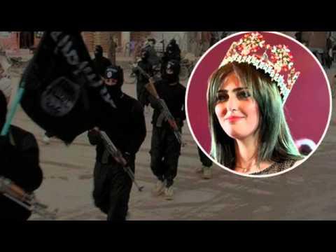 Işid'den Kürt güzeline tehdit