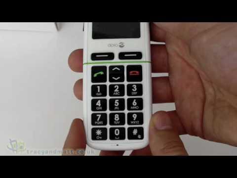 Doro PhoneEasy 345gsm unboxing video