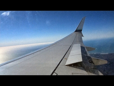 Wing View Alaska Airlines As306 Seattle To San