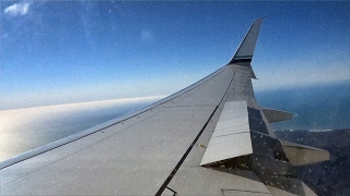 WING VIEW - Alaska Airlines AS306 | Seattle to San Francisco |…