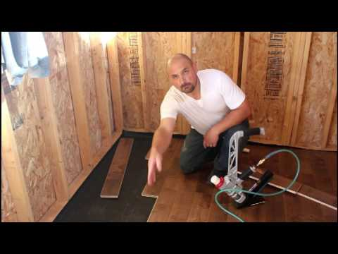 How To Install Prefinished Hardwood Flooring Youtube