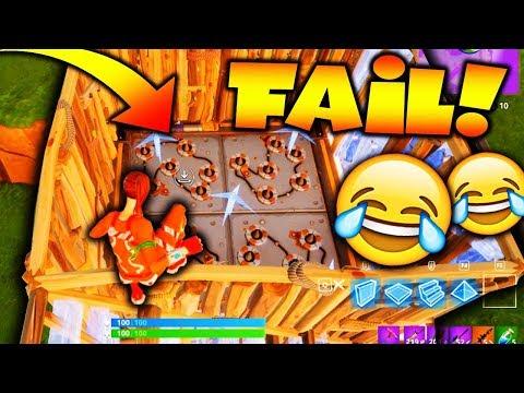 SPIKE TRAP FAIL 1v1!! (Fortnite Battle Royale)