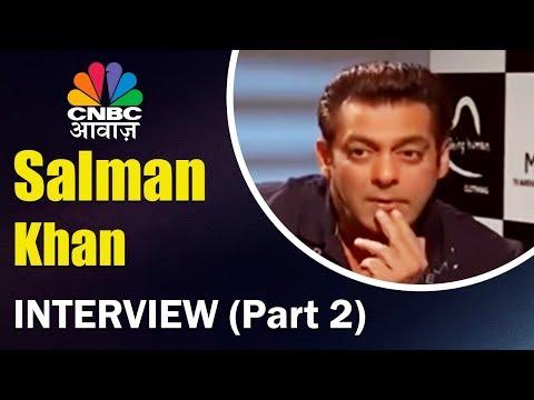 Salman Khan Interview | Tiger Zinda Hai | Race 3 | CNBC Awaaz