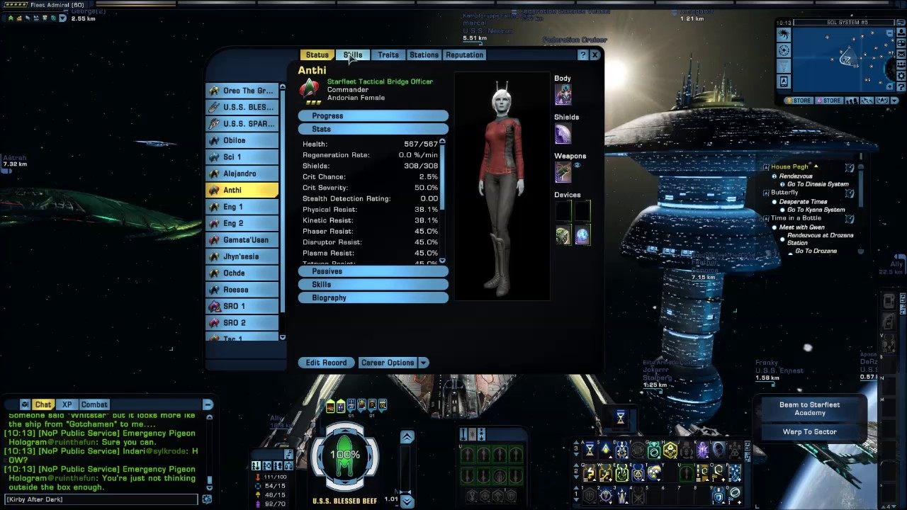 Star Trek Online Teachers Corner Concept Of Threat Tanking