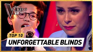 Do YOU remember these ICONIC BLIND AUDITIONS of 10 Years The Voice Kids?