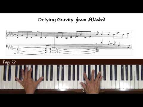 Wicked: Defying Gravity Piano Accompaniment Tutorial