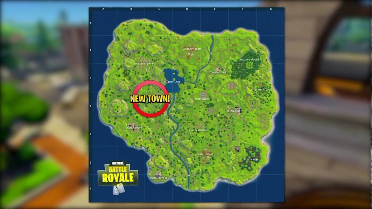New maps and areas in fortnite battle royale sneak peek for Chair in fortnite