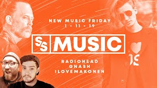 New Music Friday 1-11-19: Radiohead Drops An Old/New Single! | Sight & Sound Music