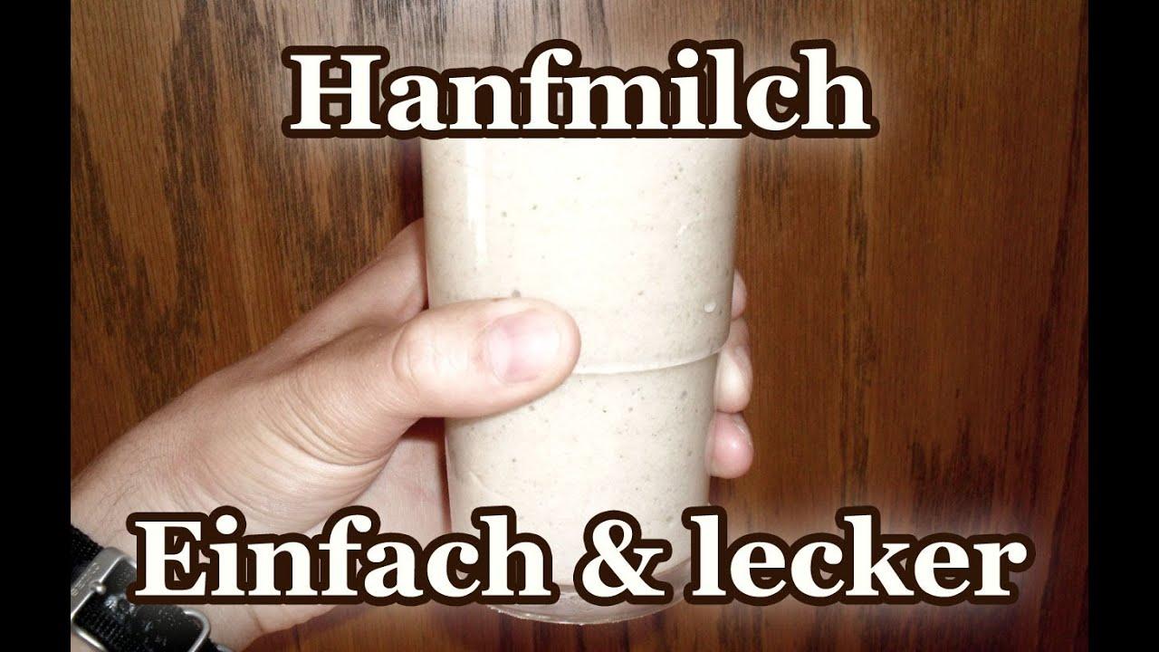 Hanfmilch: Die perfekte vegane Alternative zur Milch! Einfach und lecker!