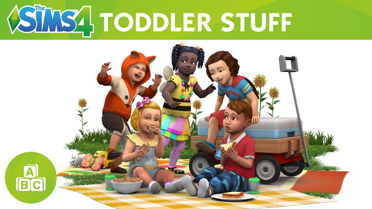 the sims 4 toddler stuff official trailer youtube