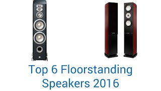 6 Best Floorstanding Speakers 2016