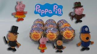 Chupa Chups chocolate egg Peppa Pig Surprise toys funny video