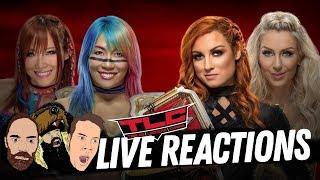 WWE TLC Live Reactions With Steve & Larson & Kal Jak!