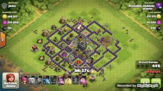 Best Troops For loot (th 9) #Attack strategy (Clash of Clans)