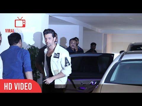 Hrithik Roshan At At Karan Johar Birthday Grand Party