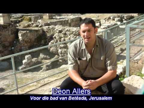 Deon Allers - Voor die Bad van Betésda Israel toer 2015