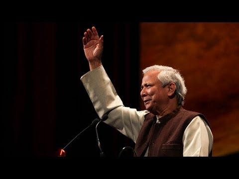 Muhammad Yunus - Global Treasure Award Recipient - 2013 Skoll World Forum