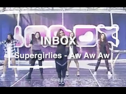Supergirlies - Aw Aw Aw (Live on Inbox)