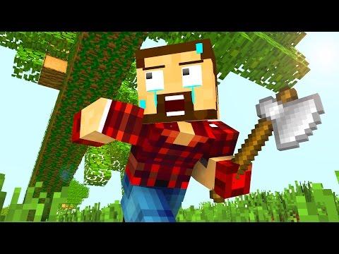 Realistic Life - Craftronix Minecraft Animation - Видео из Майнкрафт (Minecraft)