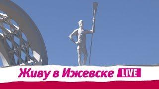Статуи в парке Кирова