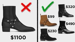 4 Boots that BEAT the Saint Laurent Wyatt | Affordable Alternatives to SLP