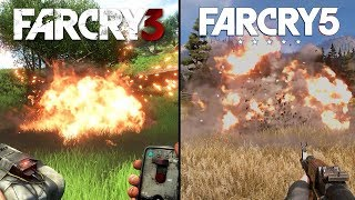 Far Cry 3 vs Far Cry 5 | Direct Comparison