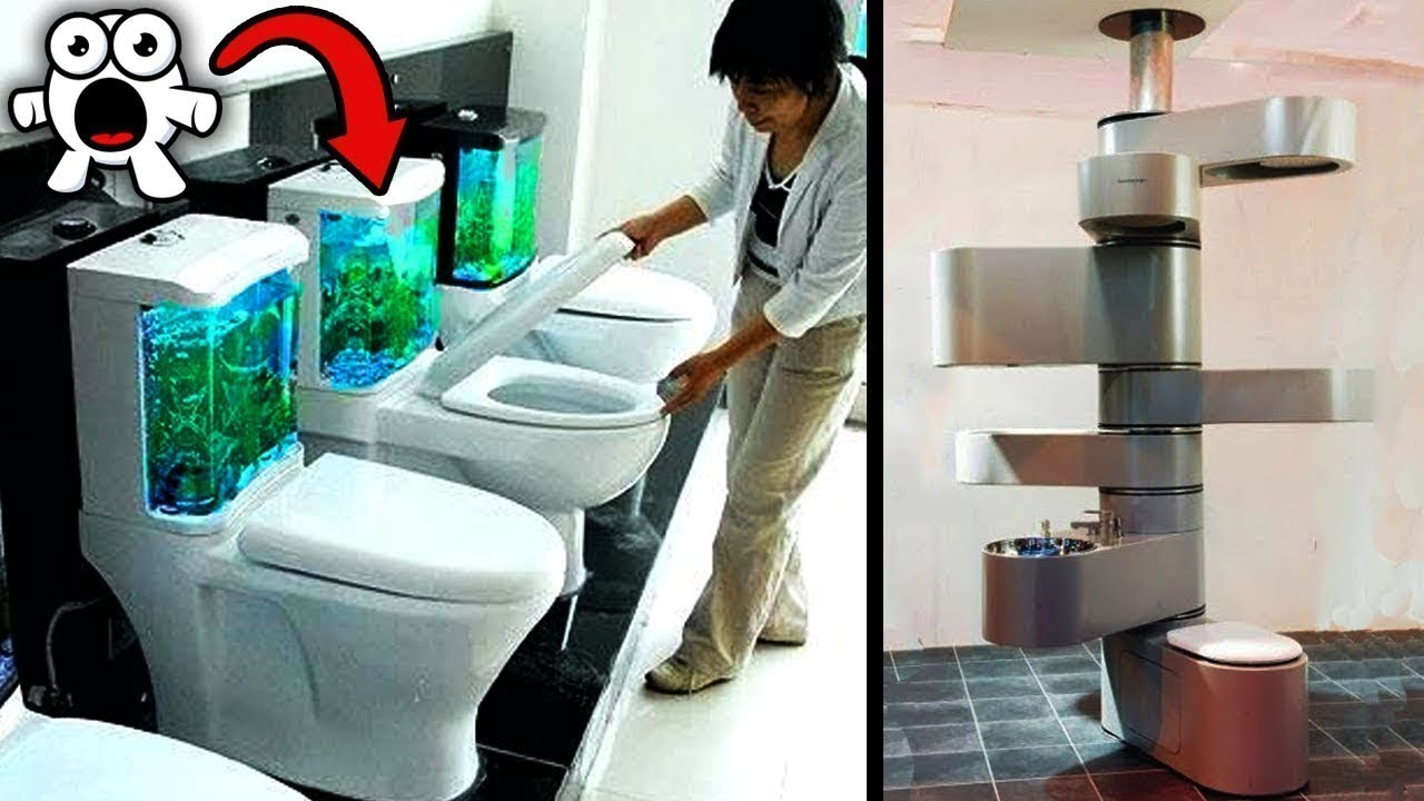 Top 20 Weirdest Toilets Ever Made