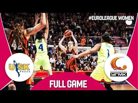 ZVVZ USK Praha (CZE) v UMMC Ekaterinburg (RUS) - 3rd Place -Full Game - EuroLeague Women 2016/17