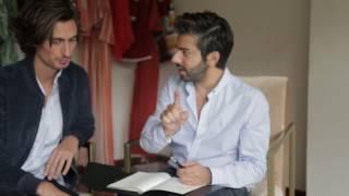 Planeando los looks de Fashion Week con Kris Goyri y Montblanc