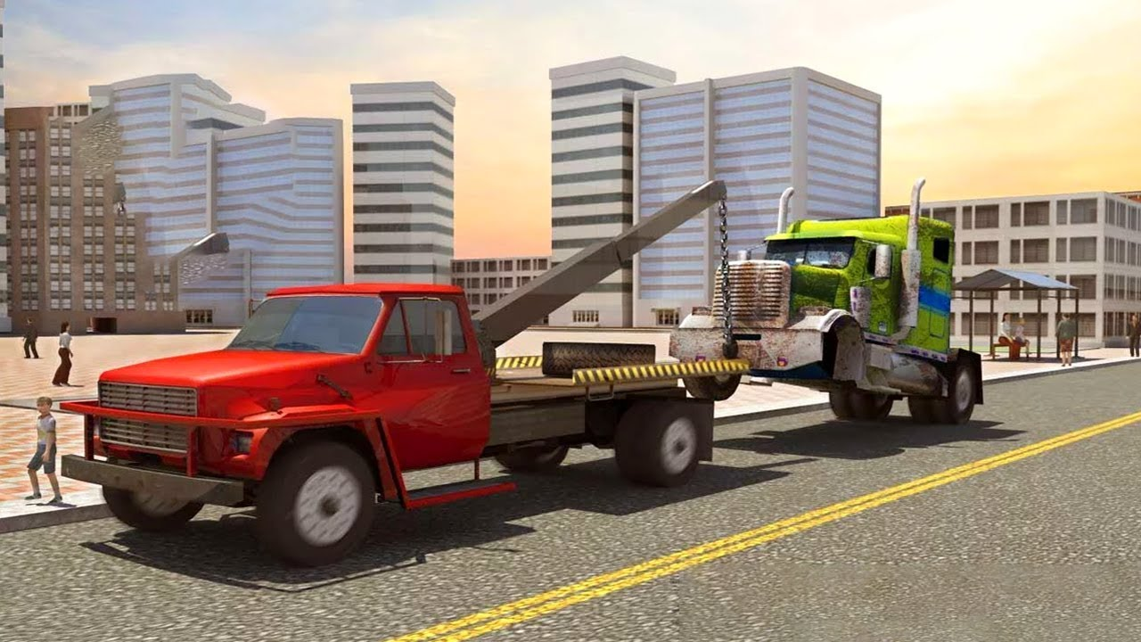 Old Car Junkyard Simulator Tow Truck Loader (by Reality Gamefield ...