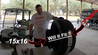 We Tried To Stretch a 275 Pro Radial on a Big Rim!!!! OFFICIAL PRO 275 CALLOUT FOR U.S NATIONALS!!