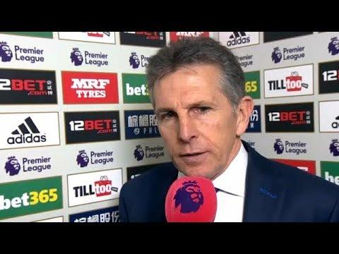 Claude Puel post match reaction interview | West Brom 1-4 Leicester City | Premier League