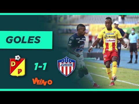 Pereira vs Junior (1-1) Liga BetPlay Dimayor 2021-II | Fecha 9