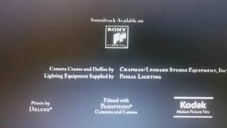 Amblin Entertainment / The Kennedy/Marshall Company / DreamWorks Pictures / 20th Century Fox