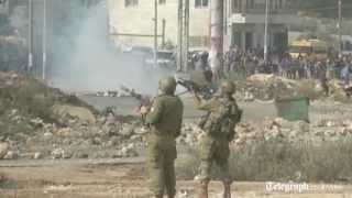Palestinians protest Gaza offensive