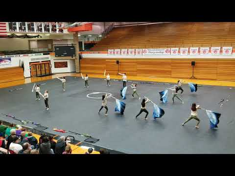 "Mundelein High School Winterguard - ""Don't Panic"" 2018"