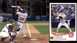 MLB 13 The Show - Parker Patterson Road to the Show - PARKER