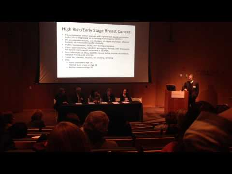 Columbia University Breast Cancer Management Panel Discussion