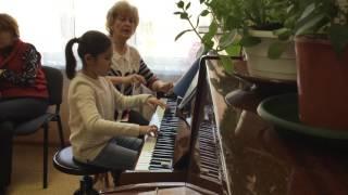 Открытый урок по классу фортепиано  Митяниной Л.В.ч.2
