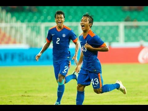 FULL MATCH -India v Nepal: SAFF Suzuki Cup 2015