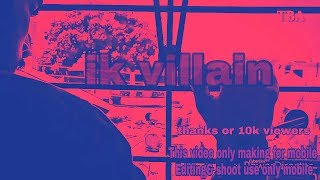 Vilen | Ek Raat [Official Video] only use one mobile edit and shoot