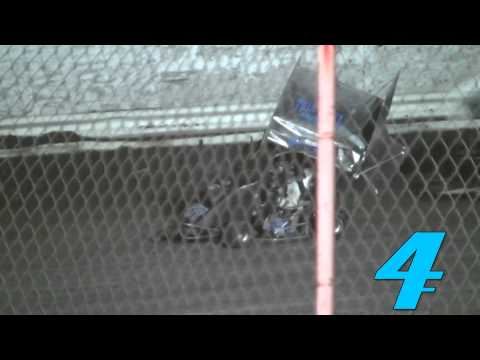 Cycleland Speedway 4/26 :: Maria Cofer and Jesse Colwell Violent Crash