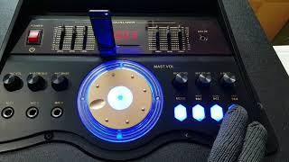 видео Стенд для беспроводной акустики «Large» (с монитором) для трех колонок