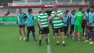 Video Coaching session at PPCFC with Celtic FC coaches download MP3, 3GP, MP4, WEBM, AVI, FLV Oktober 2017